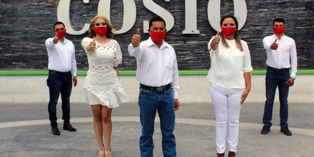 Salvador Torres encabeza planilla del PRI en Cosío para la alcaldía