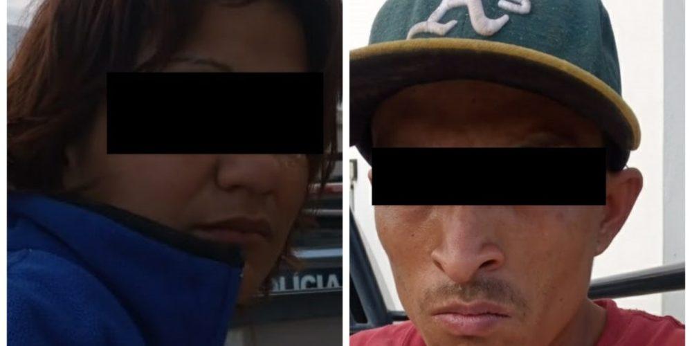 Detienen a pareja de ladrones en Tepezalá