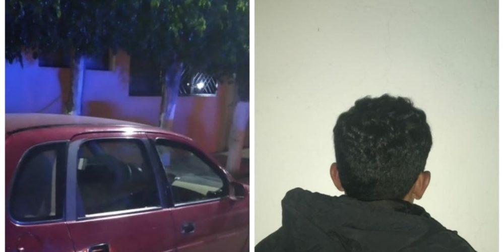 Capturan a ladrón de autos en el Barrio de la Estación