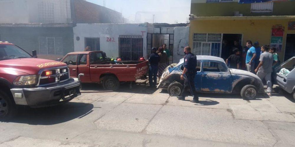 2 menores pierden la vida en incendio de casa-habitación en el Palomino Dena