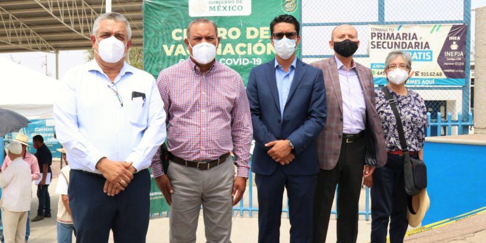 Inicia vacunación de maestros este martes en Aguascalientes