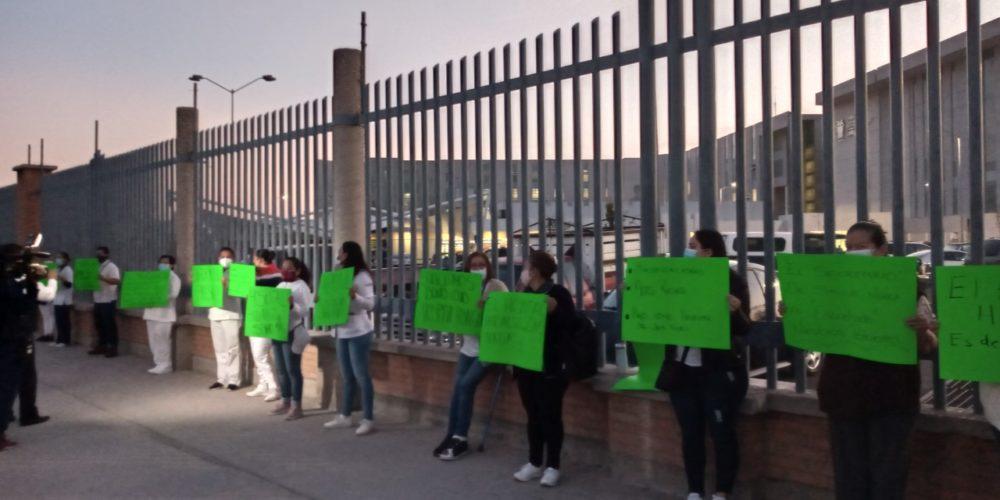 Revisará Congreso de Aguascalientes falta de pago de bono en Hospital Hidalgo
