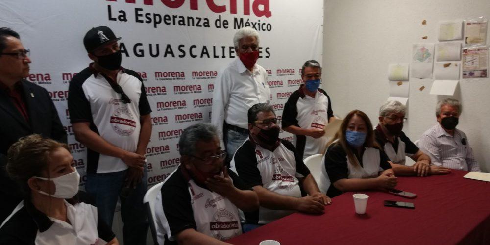 Grupo disidente de Morena no define aún candidato a la alcaldía de Aguascalientes