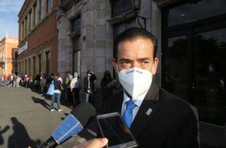 Revisará Congreso de Aguascalientes quejas de personal médico por falta de vacunas