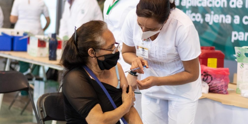 Concluye en Aguascalientes aplicación de vacunas contra el covid en primera dosis