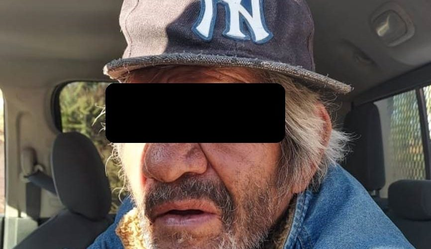 Depravado sexagenario hizo tocamientos a menor de 5 años
