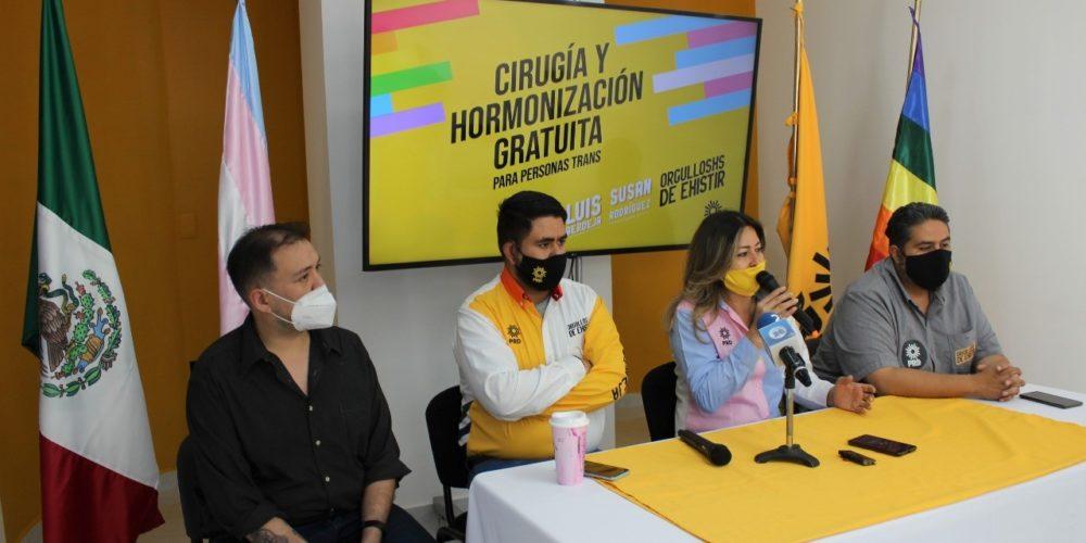Piden que gobierno subsidie cirugías de cambio de sexo y hormonización gratuita en Aguascalientes