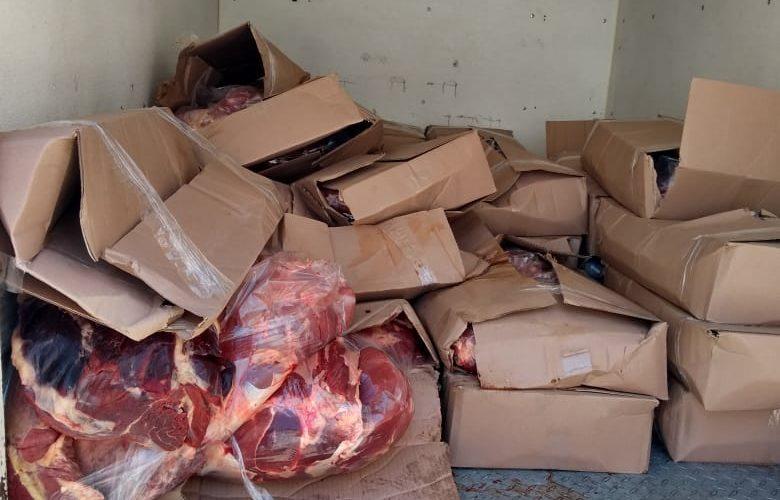 Regulación Sanitaria asegura carne de dudosa procedencia