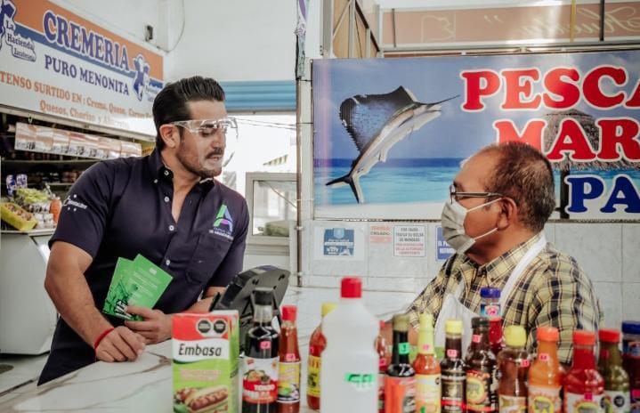 Ricardo Franco apostará por el consumo local para reactivar la economía