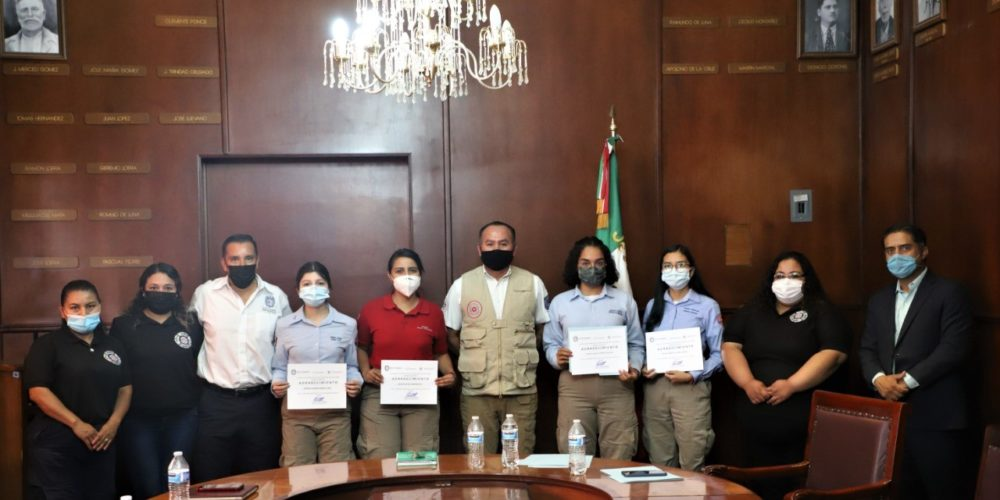 Estudiantes de la UTA colaboran con Protección Civil de Jesús María