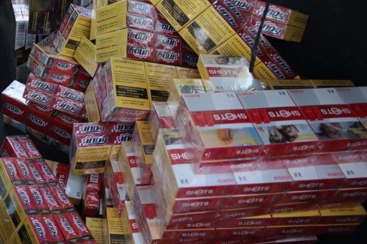 Aseguran 24 mil cigarros de contrabando