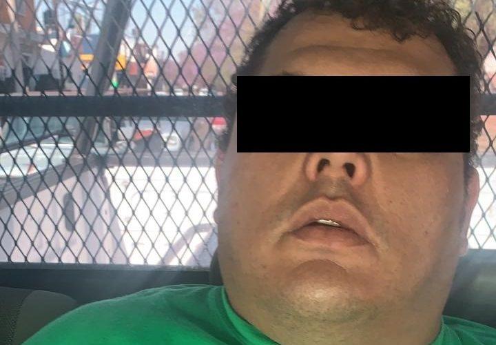 Detienen con un kilo de marihuana a distribuidor de drogas