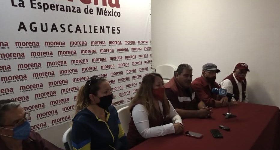 Grupo disidente de Morena presenta candidaturas alternas para alcaldías y diputaciones en Aguascalientes