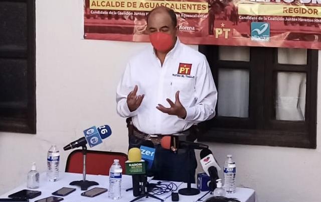 Defiende líder del PT en Aguascalientes candidatura a diputación pluri para su esposa