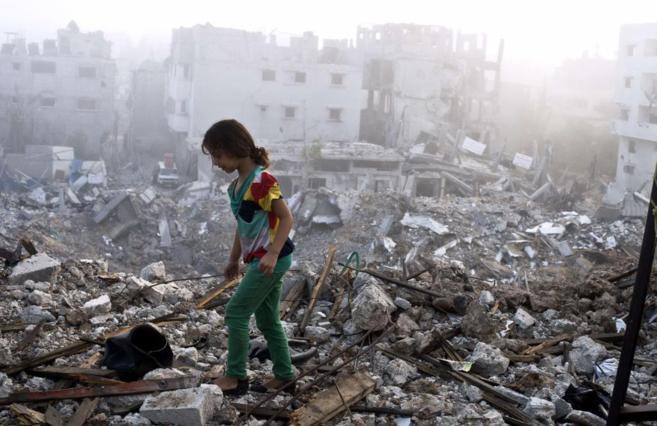Van 83 muertos por enfrentamiento Israel-Hamás; 17 son niños