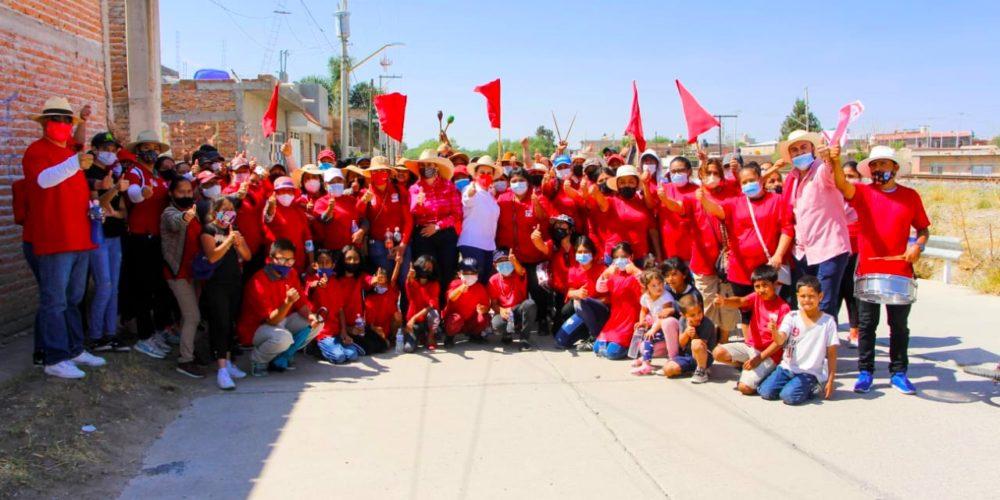 Respaldan proyecto de Margarita Gallegos en San Francisco de los Romo