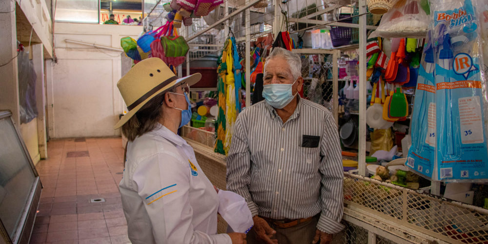 Comerciantes se suman al proyecto de Juanis Castillo en Rincón de Romos
