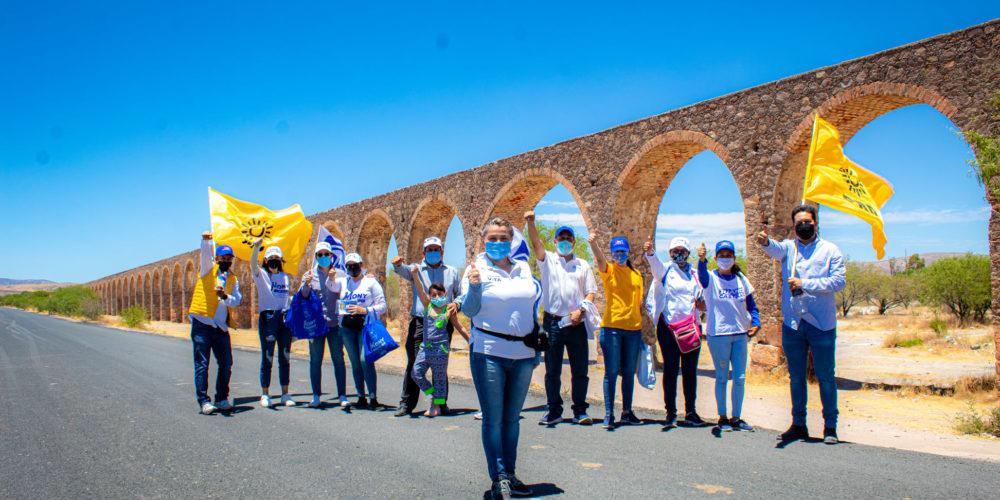 Se compromete Juanis Castillo a concretar proyecto de pueblo mágico para Rincón de Romos