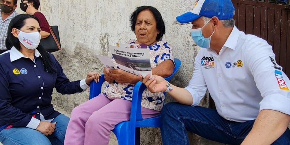 Con buena aceptación reciben propuestas del Arqui Noel en Tepezalá