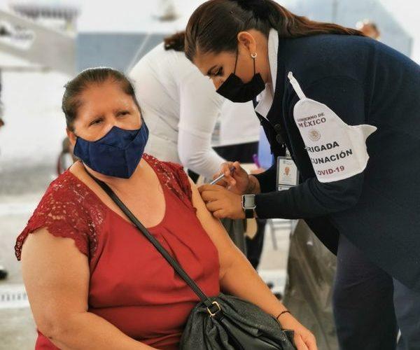Reconocen rezago del 5% en aplicación de 2as dosis de vacunas contra el covid en Aguascalientes