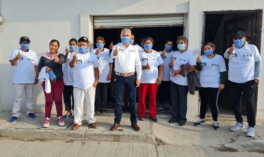 Noel Mata legislará en favor de los municipios de Aguascalientes