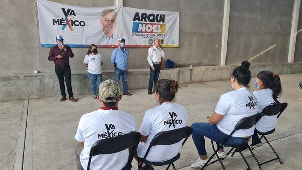Noel Mata va por mejorar la calidad de vida de los aguascalentenses