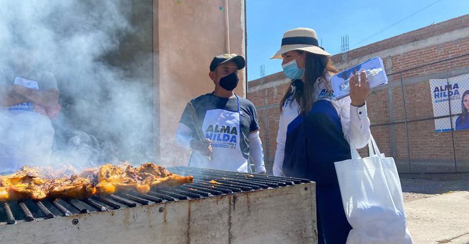 Reciben a Alma Hilda en San Antonio de Peñuelas