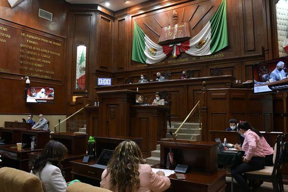 Batea Congreso de Aguascalientes petición al ISSSSPEA para regresar pago de pensiones a salario mínimo