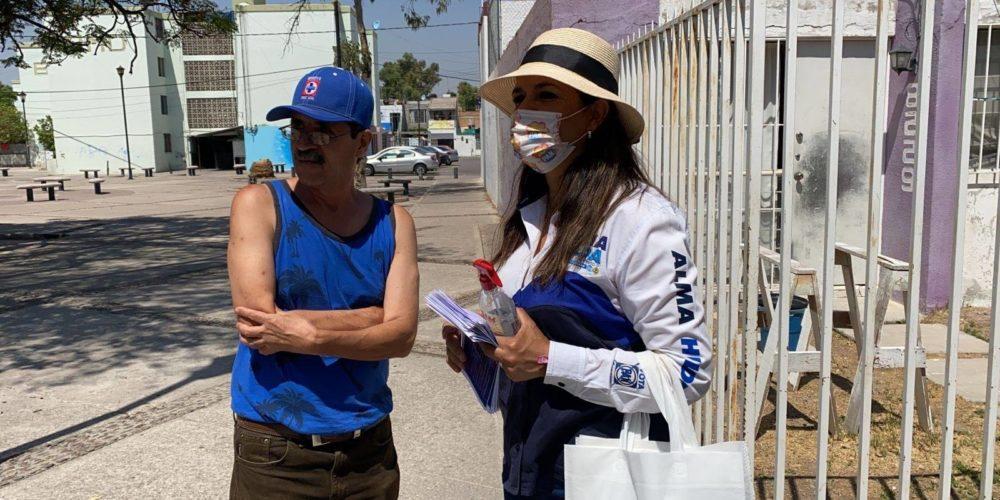 Alma Hilda Medina impulsará la salud y la economía de las familias