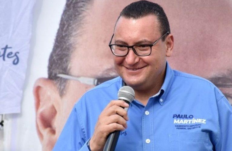 Se compromete Paulo Martínez a mejorar niveles de seguridad pública