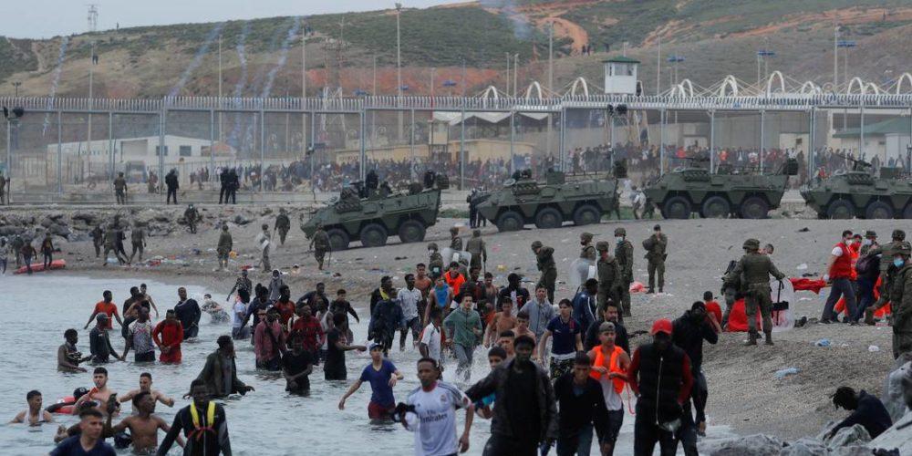 Se desata crisis migratoria entre España y Marruecos