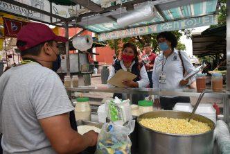 Municipio realiza operativos  de salud pública en puestos semifijos y ambulantes