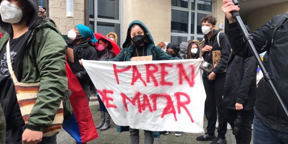 """ONU y UE condenan el uso """"excesivo de la fuerza"""" durante protestas en Colombia"""