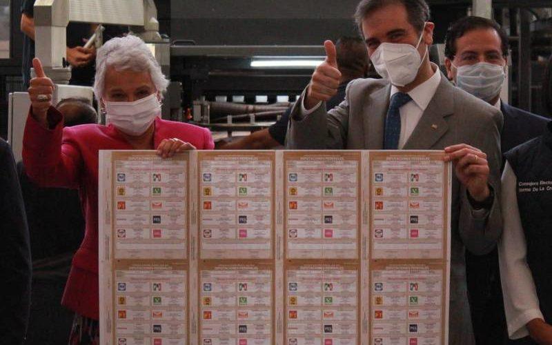 Talleres Gráficos de México concluyen impresión de boletas para elecciones federales
