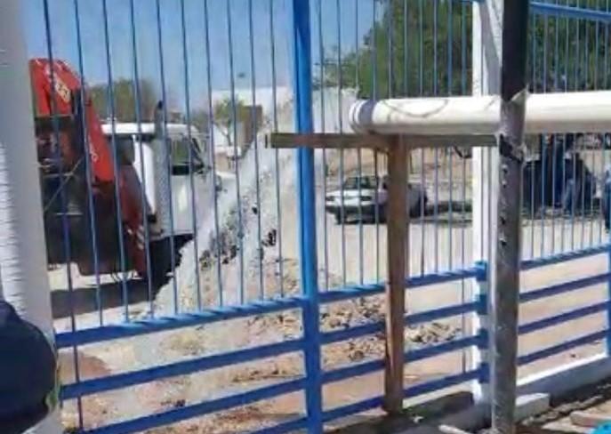 Llama CCAPAMA a tomar precauciones por lavado de pozo al oriente de la ciudad