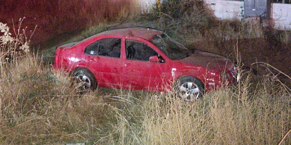 Fallece conductora al volcarse en la 45 Norte