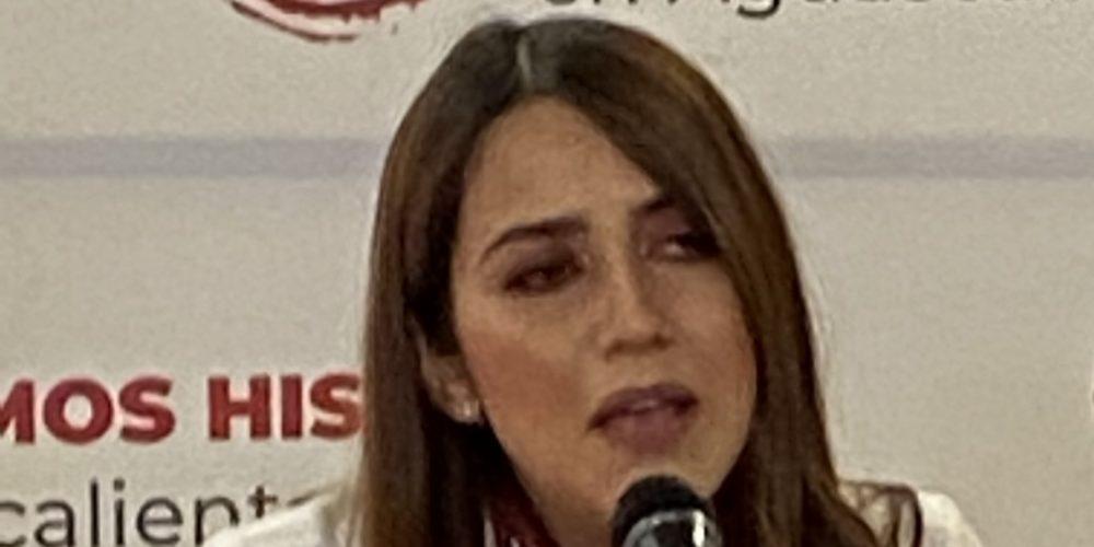 Descarta candidata de Morena privatizar servicios del agua en Jesús María
