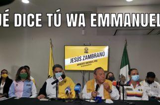 ¿Qué dice tu WA Emmanuel?