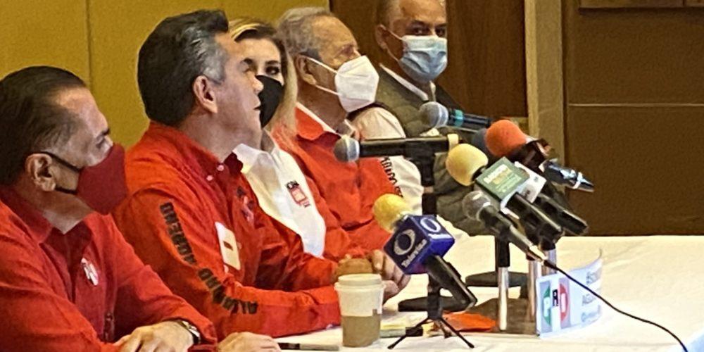 """En el PRI de Aguascalientes están los que quieren estar: """"Alito"""" Moreno"""