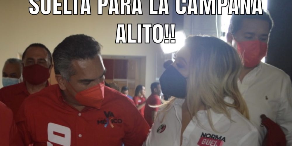 Oye Alito suelta para la campaña…