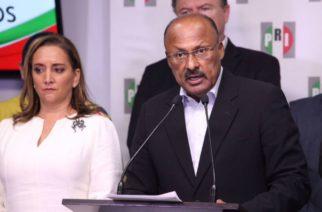 Reportan grave a René Juárez, coordinador de diputados del PRI, por COVID-19