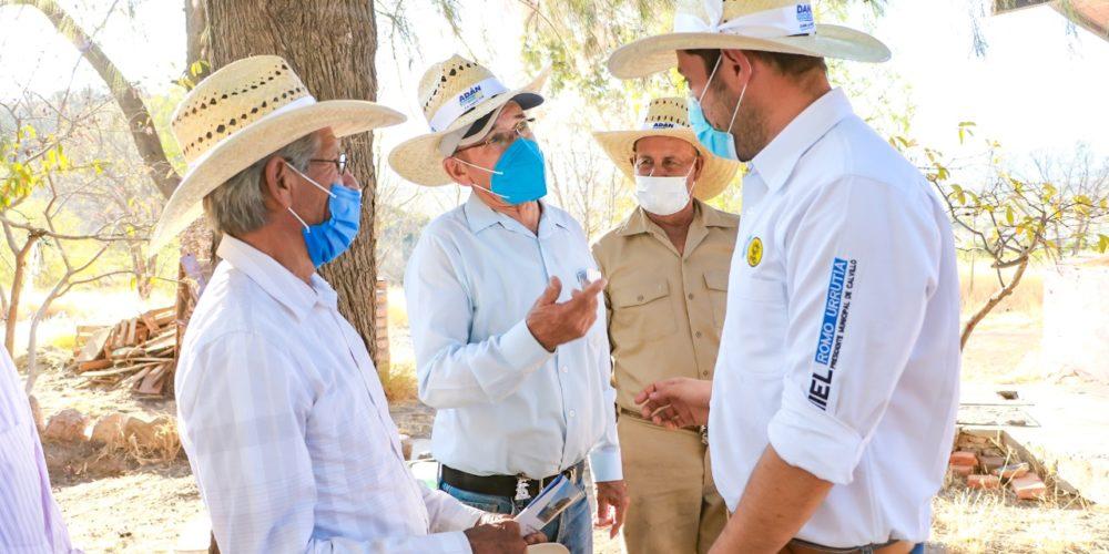 Se compromete Daniel Romo a fortalecer producción de guayaba