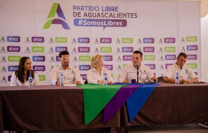 Presenta Partido Libre de Aguascalientes a sus candidatos para Tepezalá, El Llano y Cosío