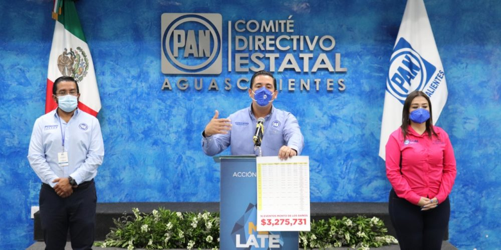 Vandalizan pozos de agua para luego llegar como héroes: denuncia PAN Aguascalientes