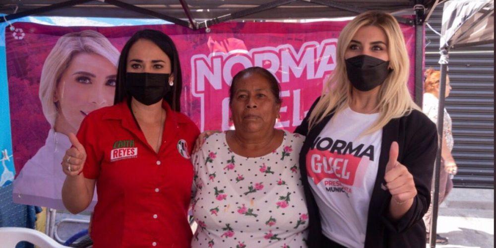 Se compromete Norma Guel a trabajar por las mujeres