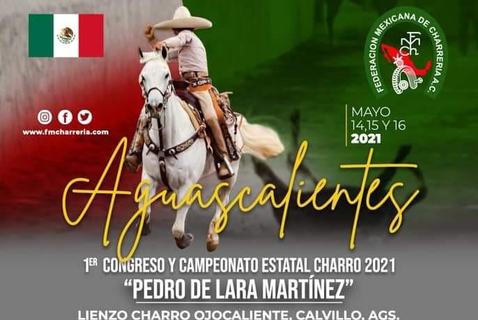 Checa el programa general del 1er Congreso y Campeonato Estatal Charro