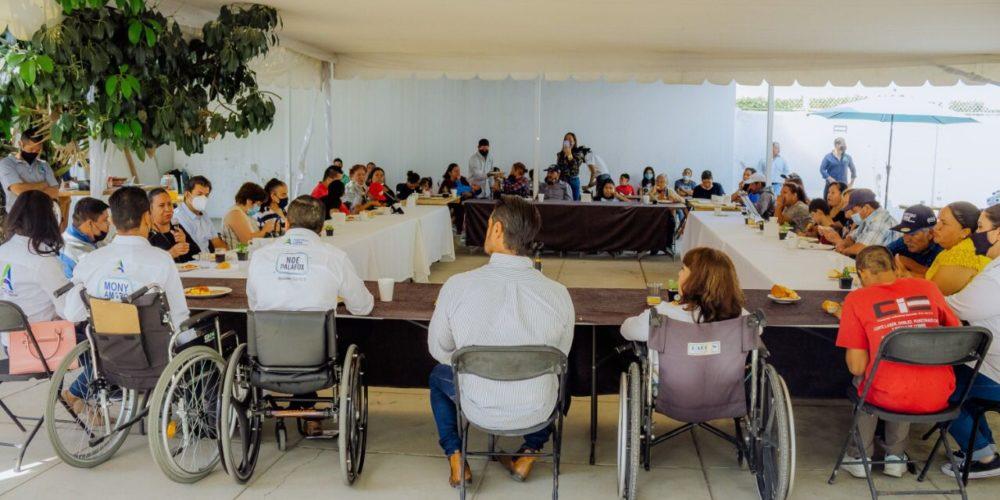 Ricardo Franco creará el Instituto Municipal del Adulto Mayor y de las Personas con Discapacidad
