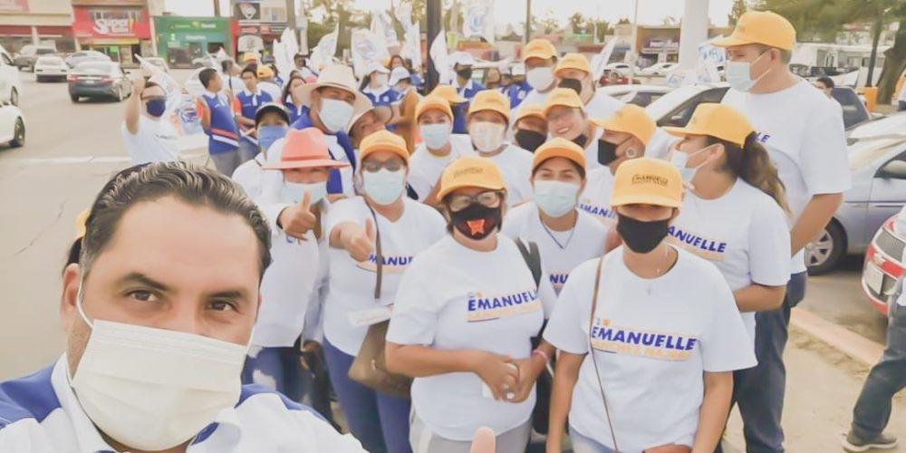 Familias de Haciendas se suman al proyecto de Emanuelle Sánchez