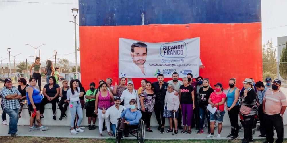 Líderes de diversas colonias se suman al proyecto de Ricardo Franco