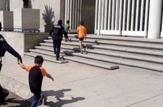 Dejan solos a 4 niños en hotel de Aguascalientes. Sus padres salieron a robar